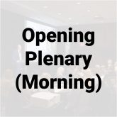 Opening plenary - AM